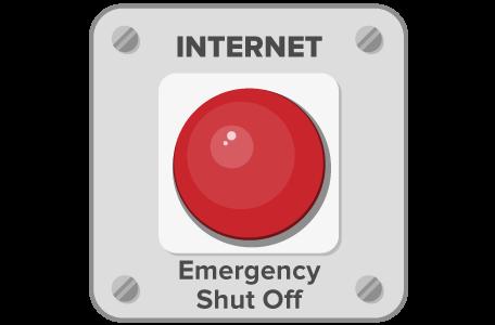 Proteja seus dados com o botão de desligar da ExpressVPN