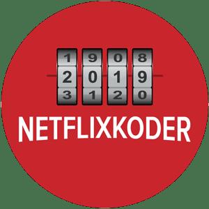 Netflix hemmelige koder: En kombinationslås der repræsenterer de skjulte Netflix film du kan finde frem til med genrekoder.