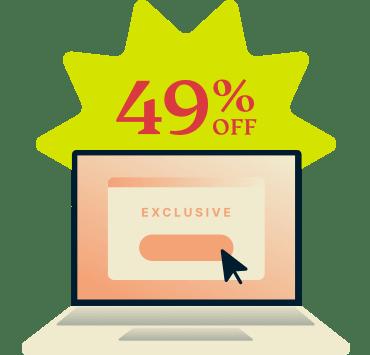 ExpressVPN 49 percent discount.