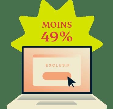 49 pour cent de réduction sur ExpressVPN
