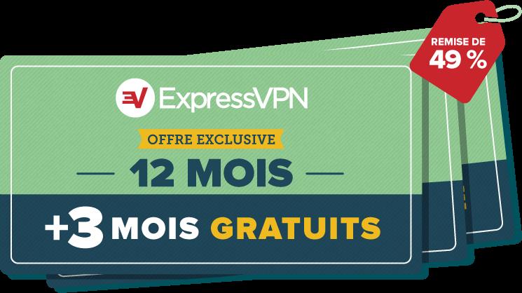 Réductions ExpressVPN.