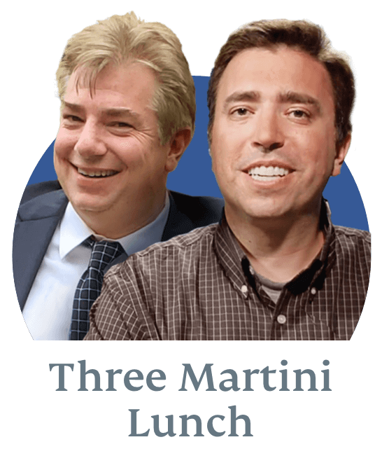 Three Martini Lunch podcast