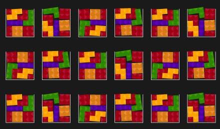 Tetris-ähnliche Blöcke, die zeigen, wie die stückweise Handhabung von Server-Software-Updates zu Inkonsistenzen zwischen Servern führen kann.