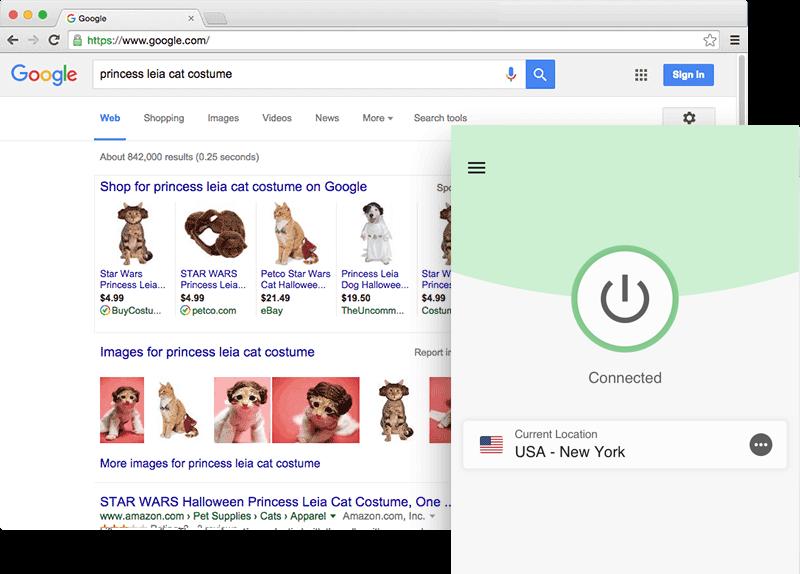 Sblocca Google con l'app di ExpressVPN