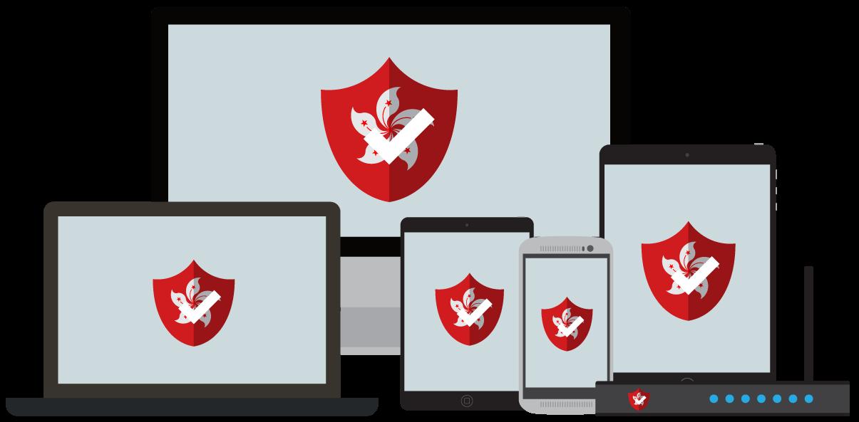 Ditt VPN for Hongkong