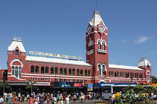 Chennain keskusrautatieasema