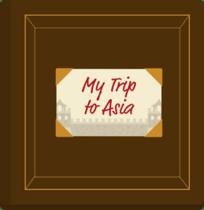 My trip to Asia.