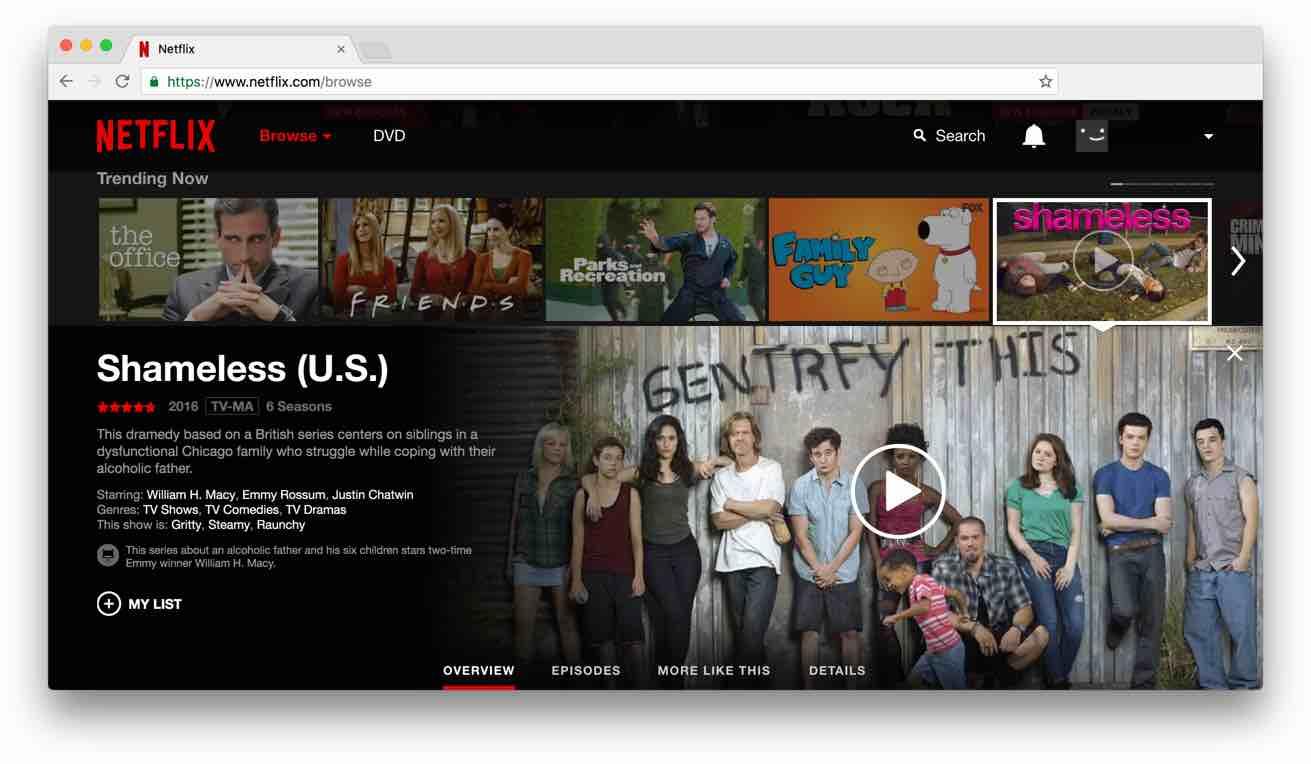 Se på Netflix med ett VPN