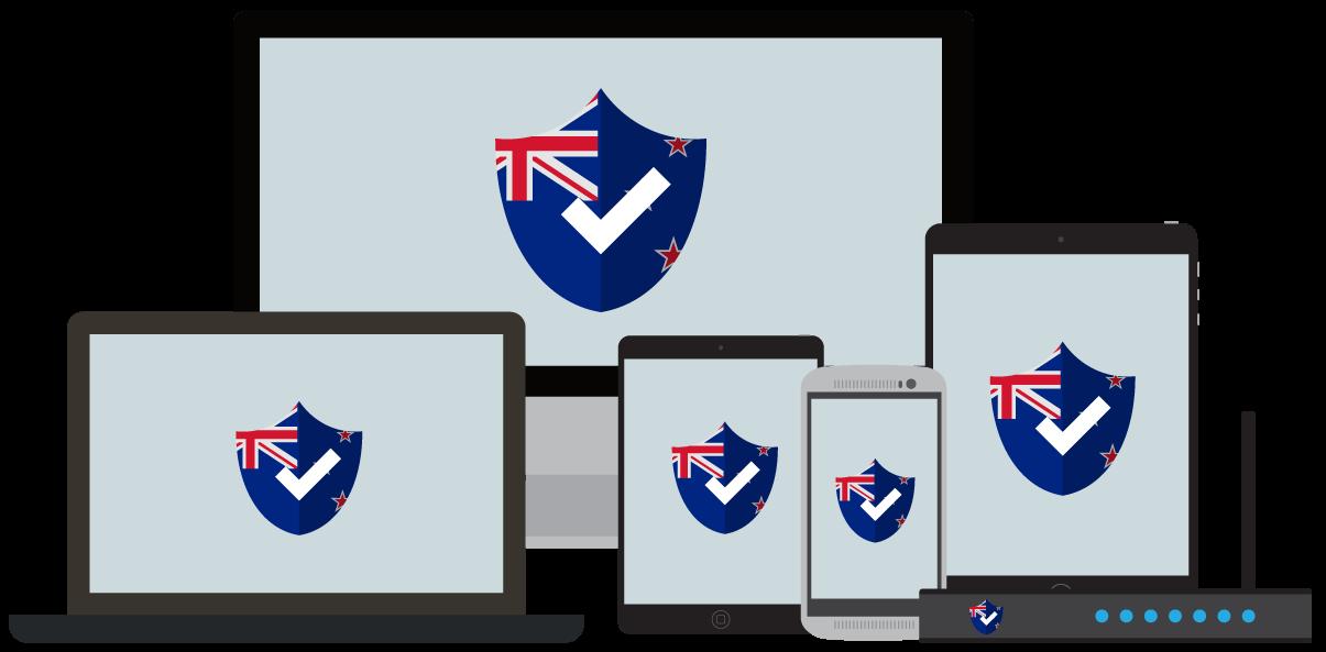 Ditt VPN för Nya Zeeland