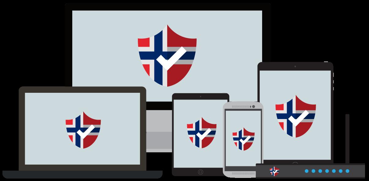 Su VPN para Noruega