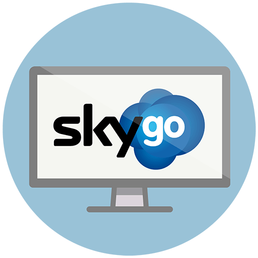 Sky Go er gratis for abonnenter hos Sky TV UK og Sky TV Italia.
