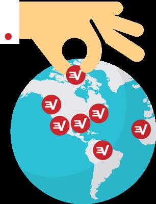Valitse VPN-sijainti