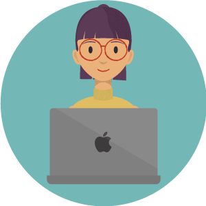 Mac VPN: Woman smiling on Apple laptop