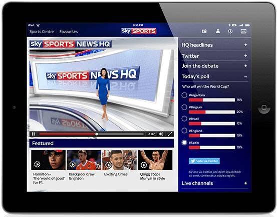 Streamuj Sky Sports na żywo z VPN