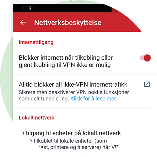 Network Lock for Android.