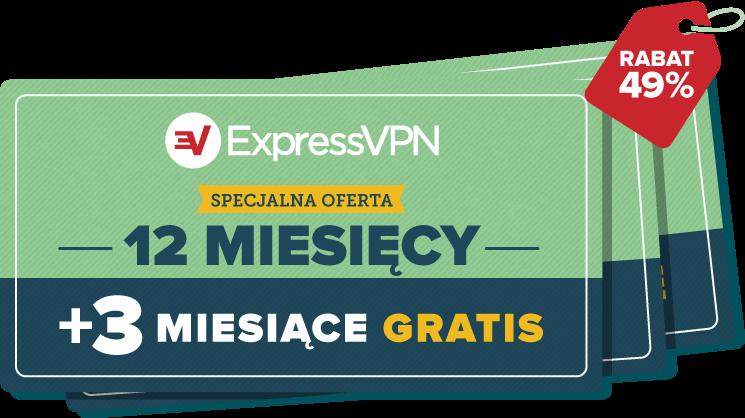 Kupony ExpressVPN