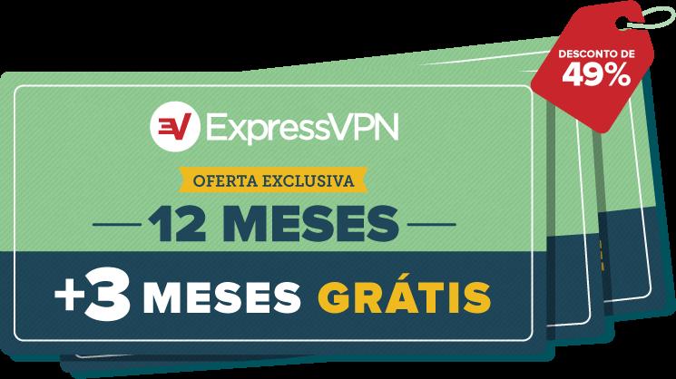 Cupons da ExpressVPN.
