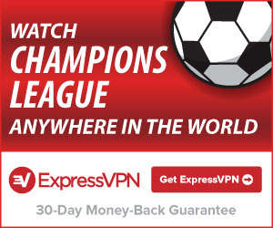 Expressvpn sports square champions league