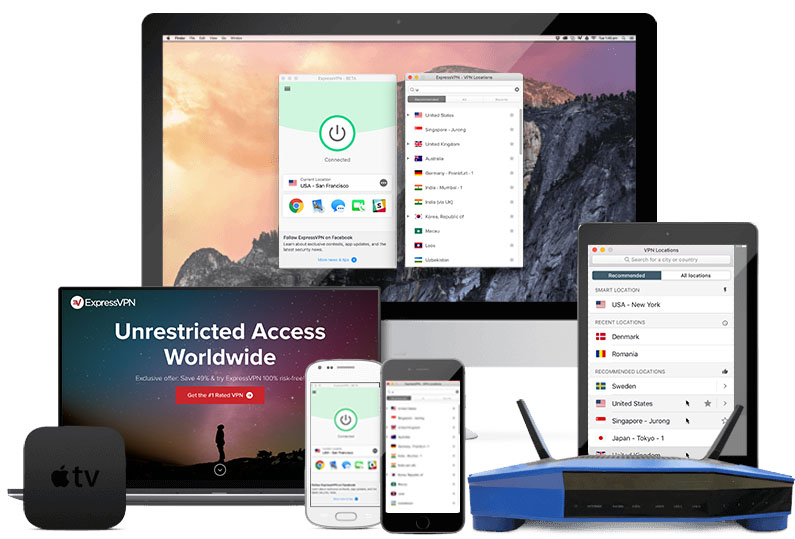 Expressvpn on all devices 3