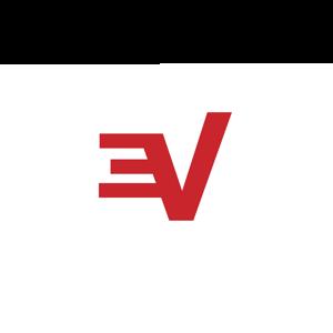 Logo expressvpn icon white rgb