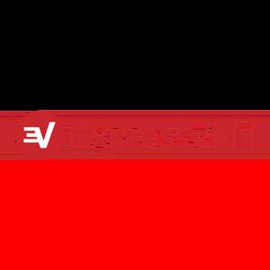 Logo expressvpn red horizontal rgb