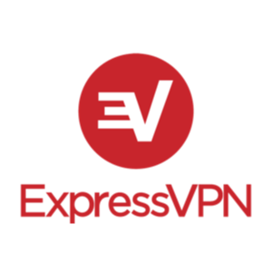 Logo expressvpn red square stacked rgb