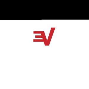 Logo expressvpn white stacked rgb