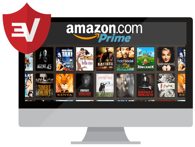 Guarda Amazon Prime Video con una VPN.