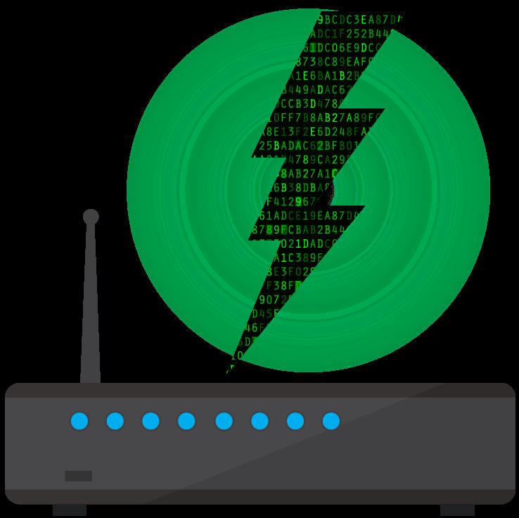 Un routeur pouvant être configuré manuellement.