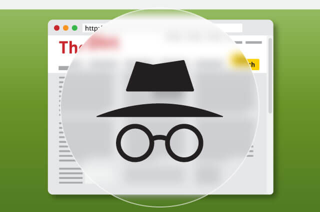 What doesn't incognito mode protect against?