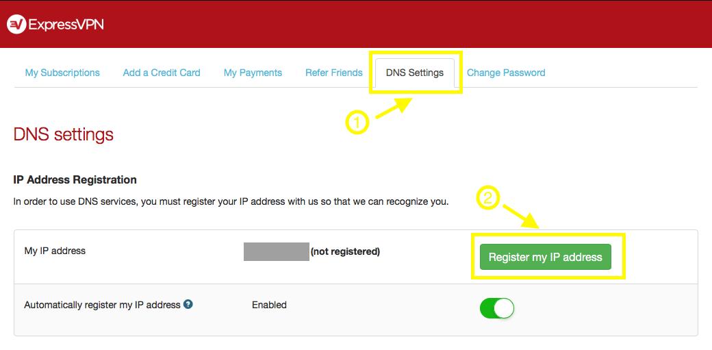 Register IP