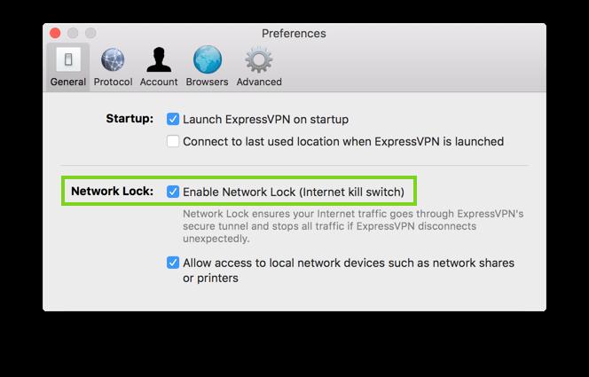 uTorrent üzerinde sızıntıları önlemek için Network Lock'u etkinleştirin