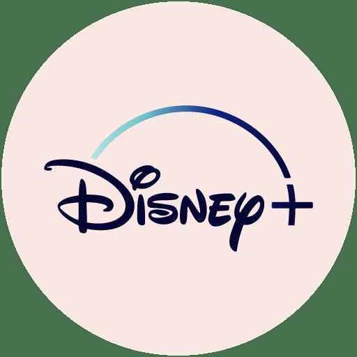 Disney+ 로고가 화면에 표시된 컴퓨터