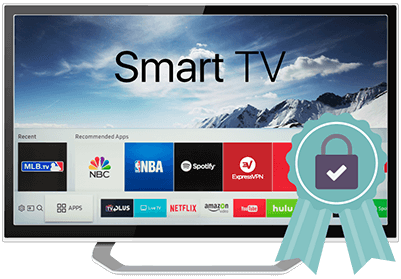 Smart TV avec ruban.