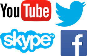 Use a ExpressVPN para desbloquear o YouTube, Twitter, Skype, Facebook e muito mais.