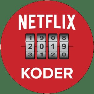 Netflix hemliga koder: Ett kombinationslås som representerar de dolda Netflix-filmerna du kan låsa upp med genrekoder.