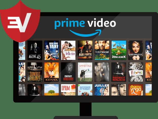 ExpressVPN for Amazon Prime Video