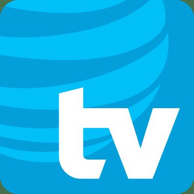 The AT&T TV logo
