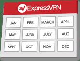 12 months ExpressVPN
