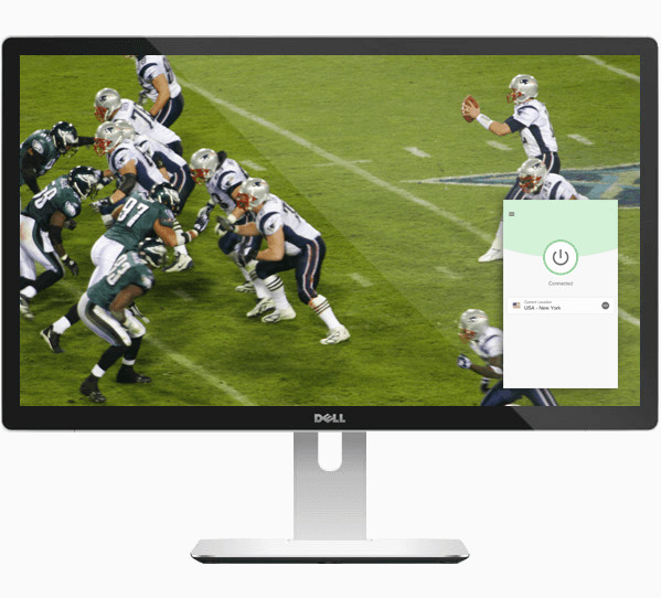 ExpressVPN을 이용한 데스크탑 NFL 게임