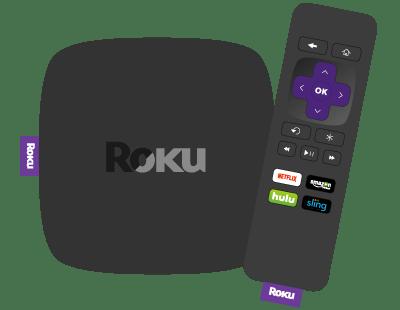 Roku streaming player device.