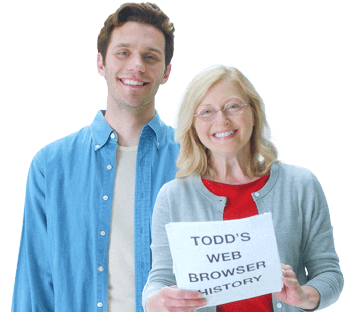 Todd and mom