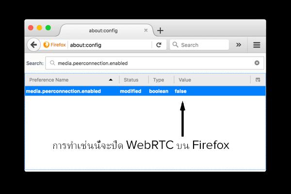 วิธีปิดใช้งาน WebRTC ใน Firefox บนเดสก์ท็อป