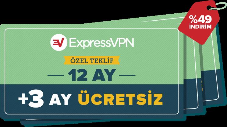 ExpressVPN kuponları.